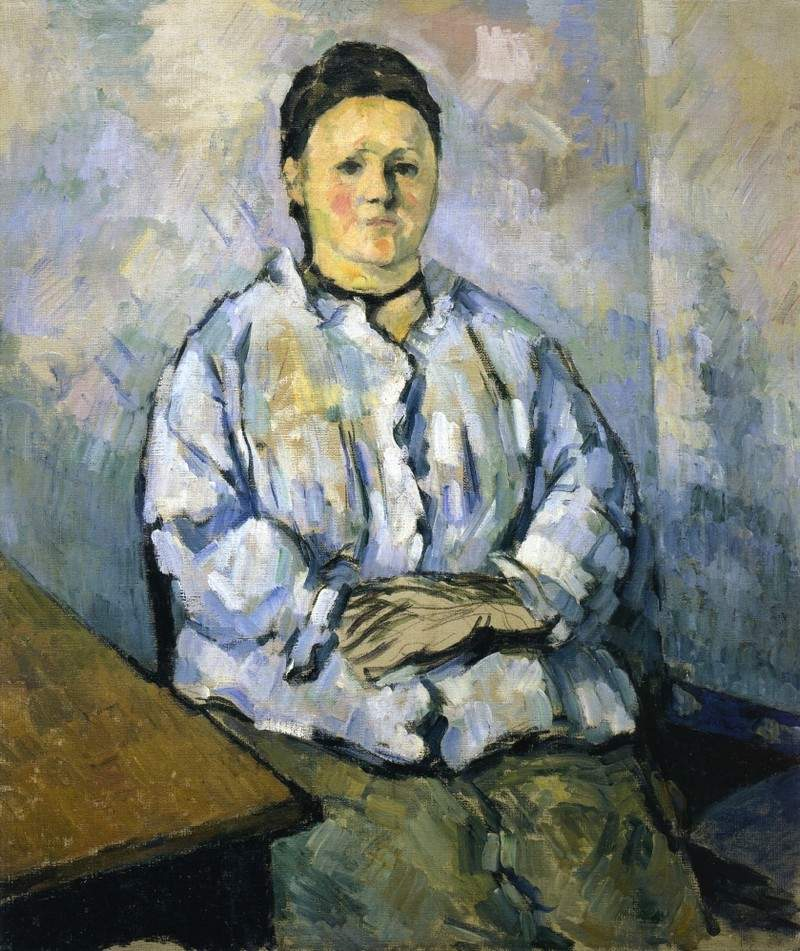 Seated Woman — Поль Сезанн