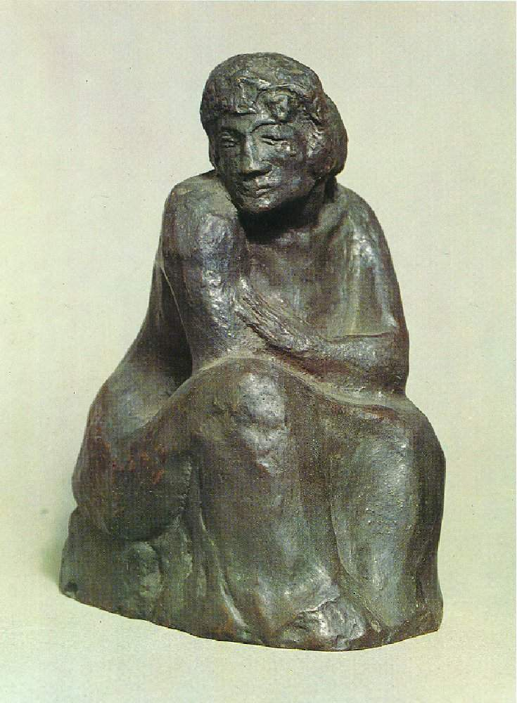 Seated woman — Пабло Пикассо