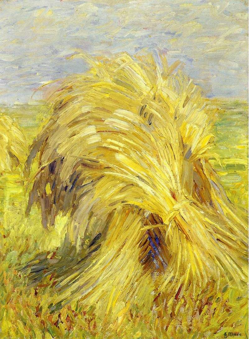 Sheaf of Grain — Франц Марк