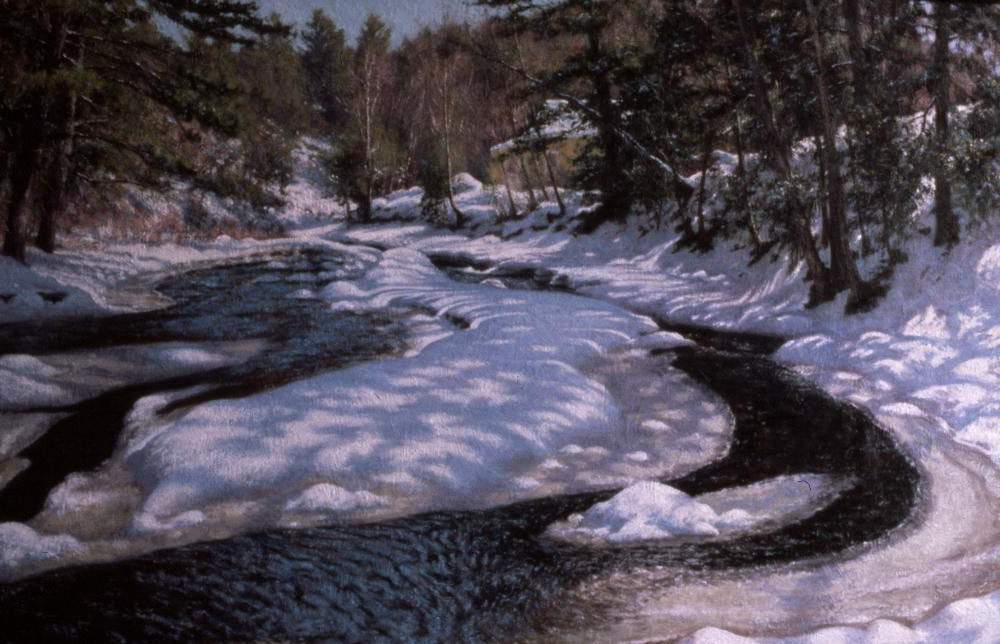 Spring Thaw Photograph by Bill Sherrell