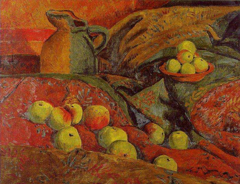 Still life with apples and jug — Поль Серюзье