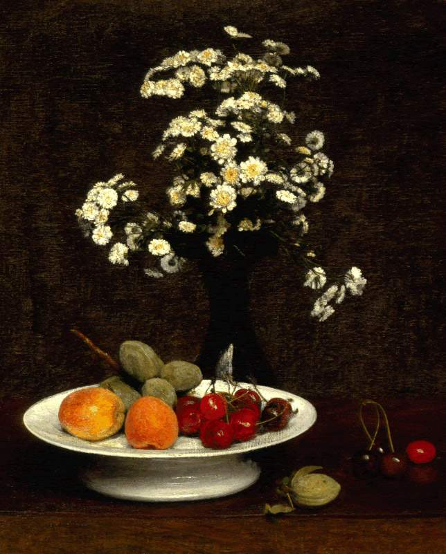 Still Life With Flowers — Анри Фантен-Латур