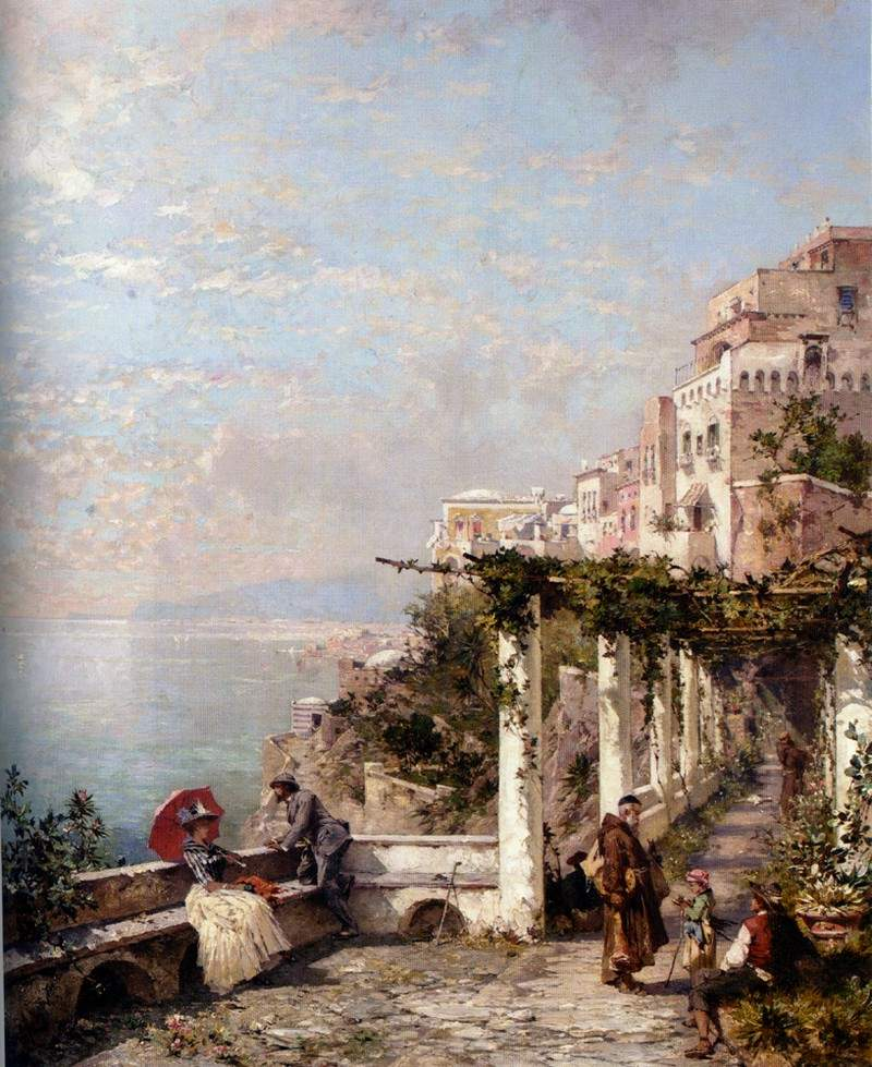 The Amalfi Coast — Франц Рихард Унтербергер
