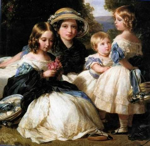 The daughters of Queen Victoria and Prince Albert — Франц Ксавер Винтерхальтер