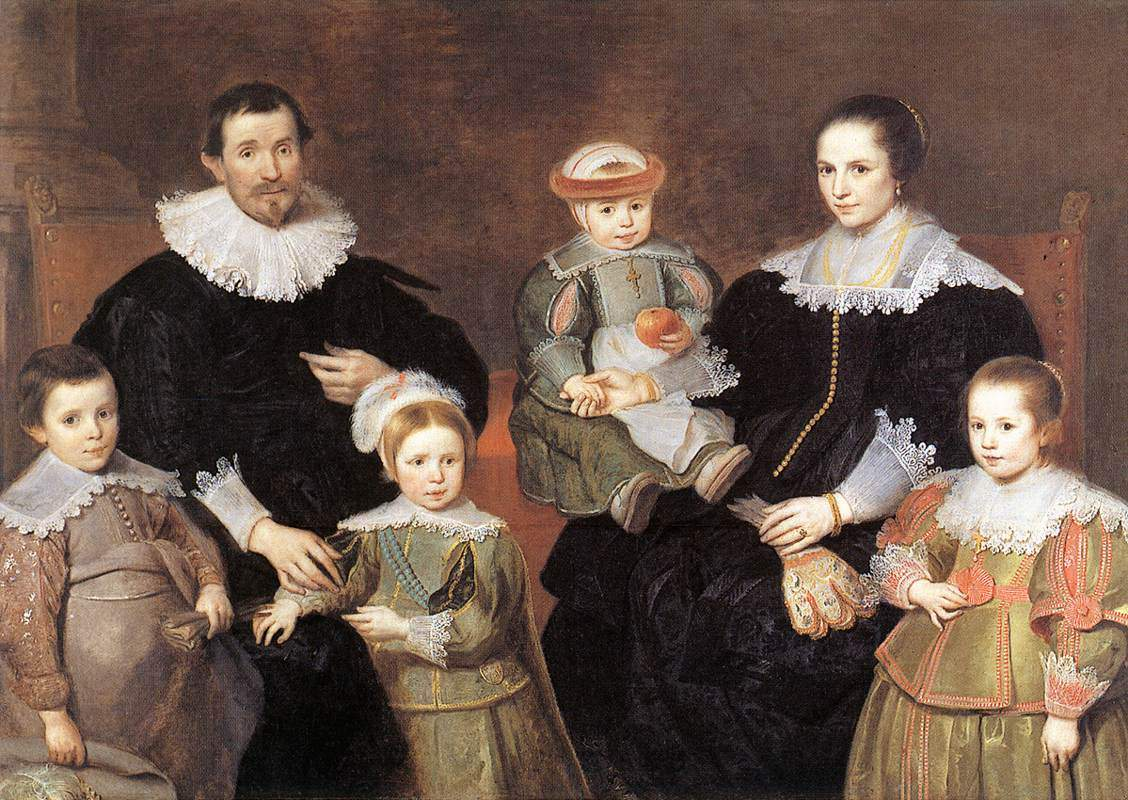 The Family of the Artist — Корнелис де Вос