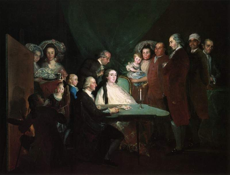 The Family of the Infante Don Luis — Франсиско де Гойя