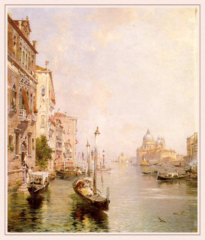 The Grand Canal, Venice — Франц Рихард Унтербергер