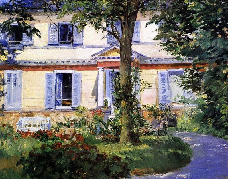 The House at Rueil — Эдуард Мане