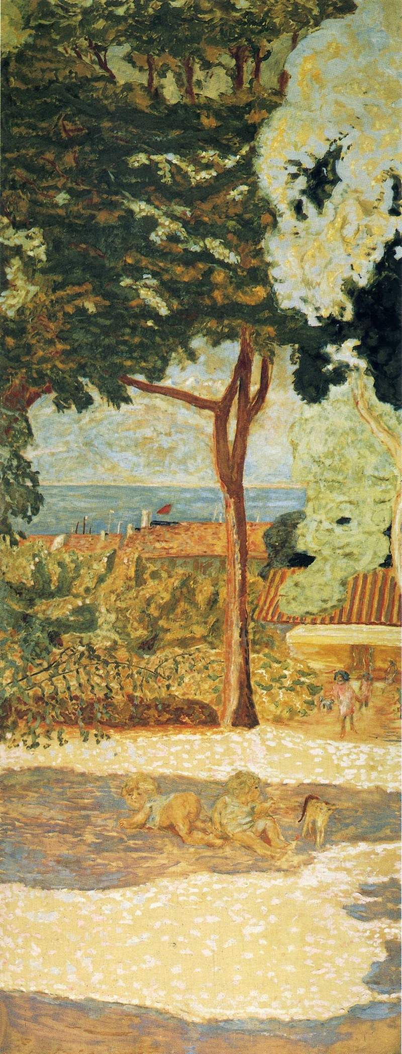 The Mediterranean (centre of triptych) — Пьер Боннар