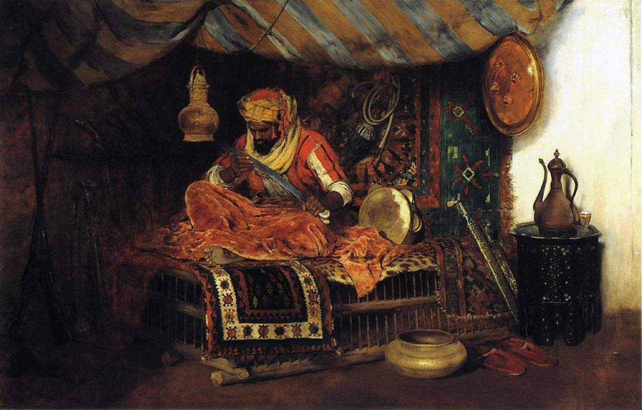 The Moorish Warrior — Уильям Меррит Чейз