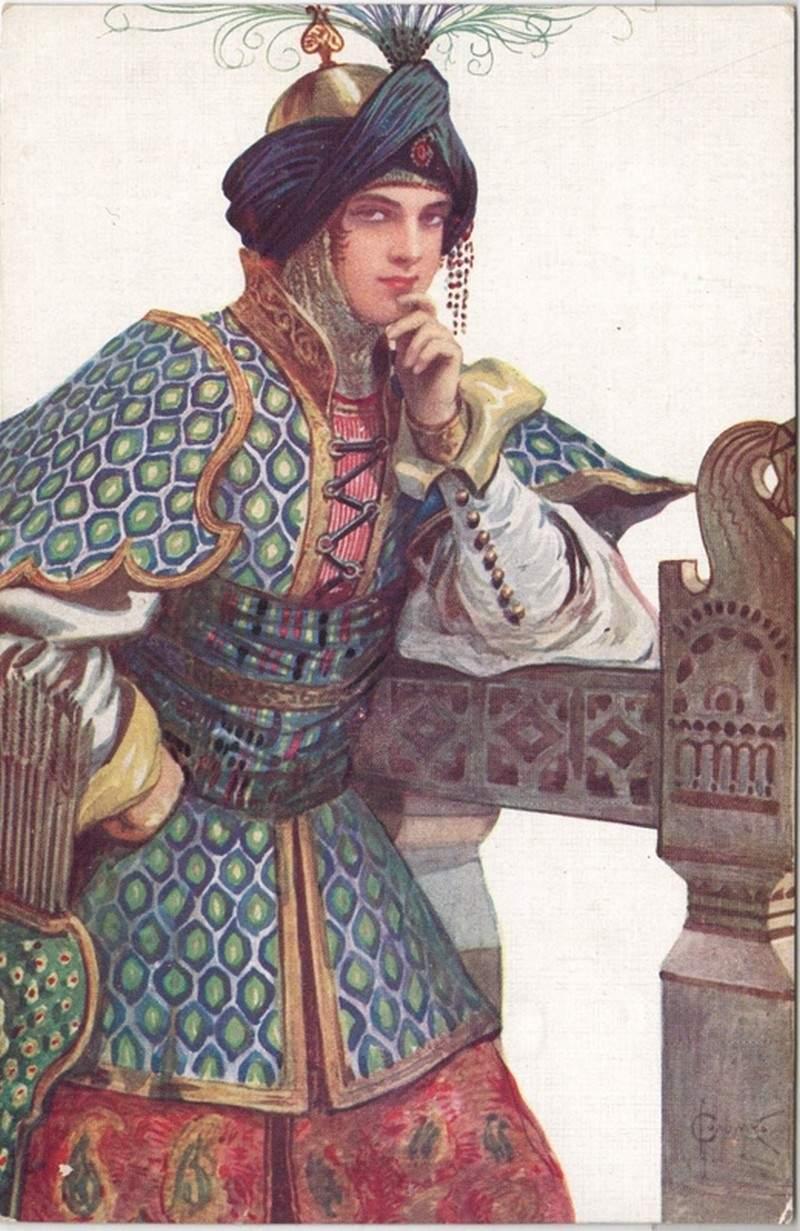 Sergei Solomko, Vasilisa Mikulishna, 1911, unknown collection.