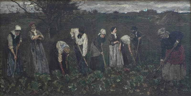 Workers on the beet field — Макс Либерман
